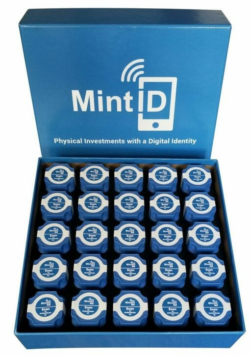 MintID Buffalo 1oz .999 Silver Bullion Round with NFC Scan Authentication 8