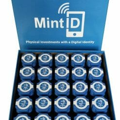 MintID Buffalo 1oz .999 Silver Bullion Round with NFC Scan Authentication 17