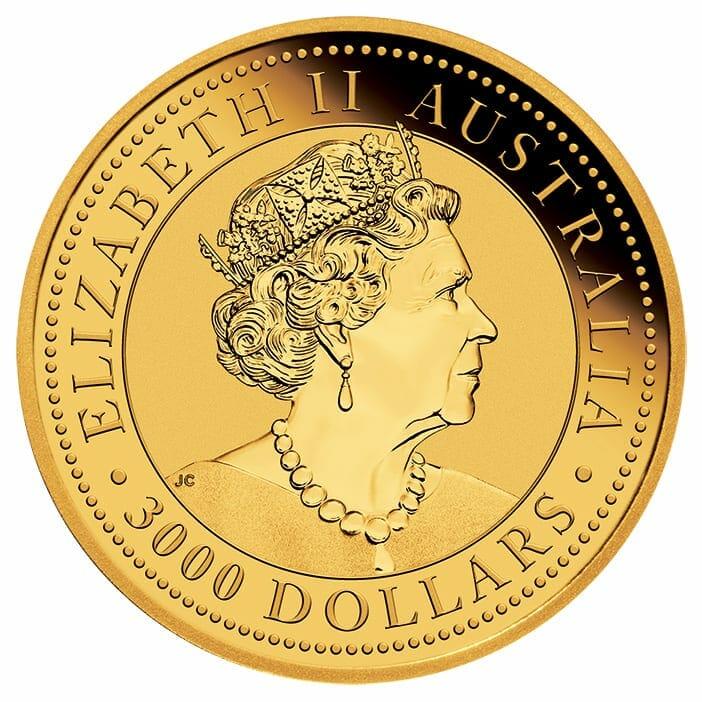 2021 Australian Kangaroo 1kg .9999 Gold Bullion Coin - 1 Kilo 3