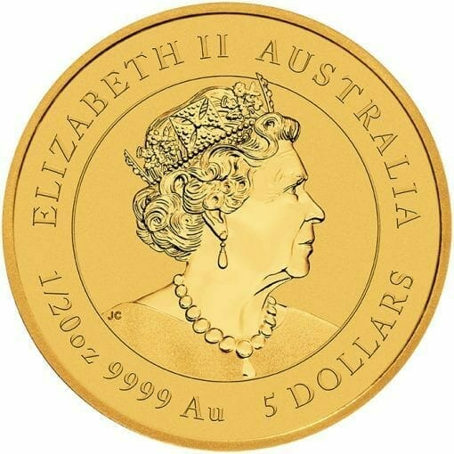2021 Year of the Ox 1/20oz .9999 Gold Bullion Coin – Lunar Series III 3