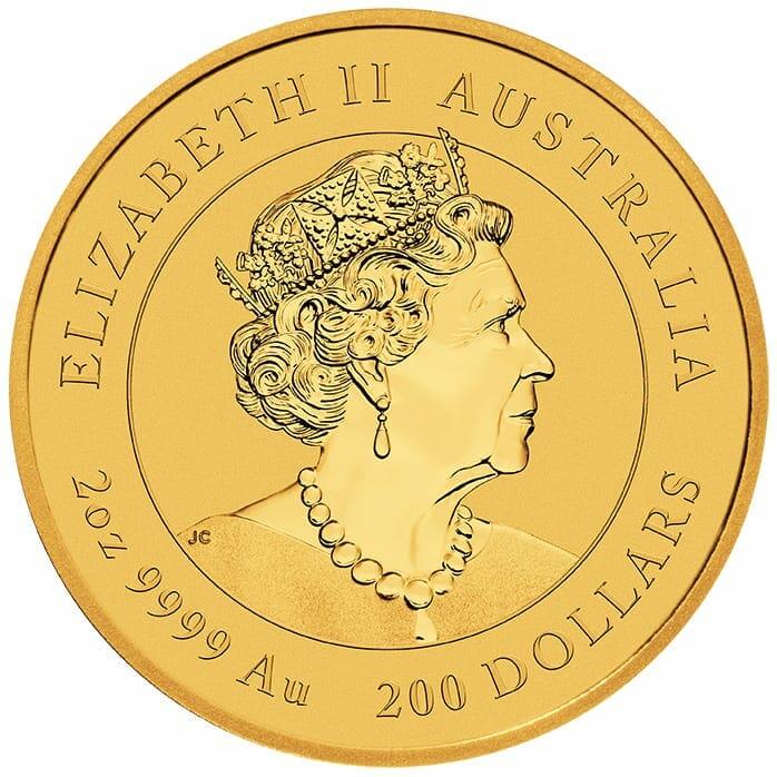 2021 Year of the Ox 2oz .9999 Gold Bullion Coin – Lunar Series III 5