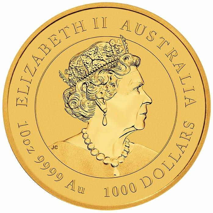 2021 Year of the Ox 10oz .9999 Gold Bullion Coin – Lunar Series III 3