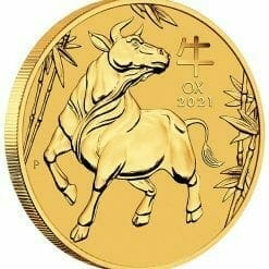 2021 Year of the Ox 1/10oz .9999 Gold Bullion Coin – Lunar Series III 4