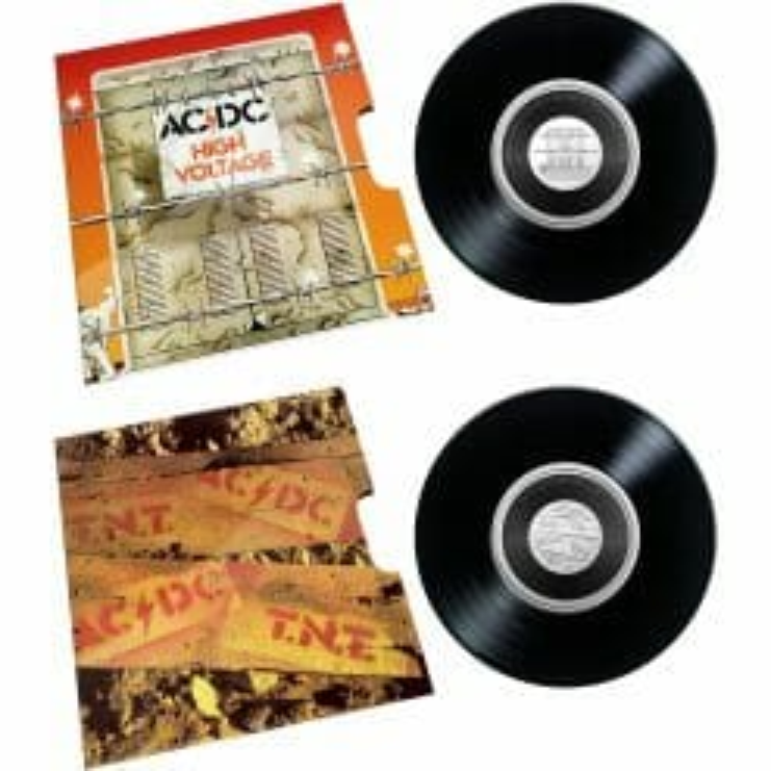 2020/2021 - AC/DC Seven Coin Collection - 20c Coloured CuNi Unc Coins 10