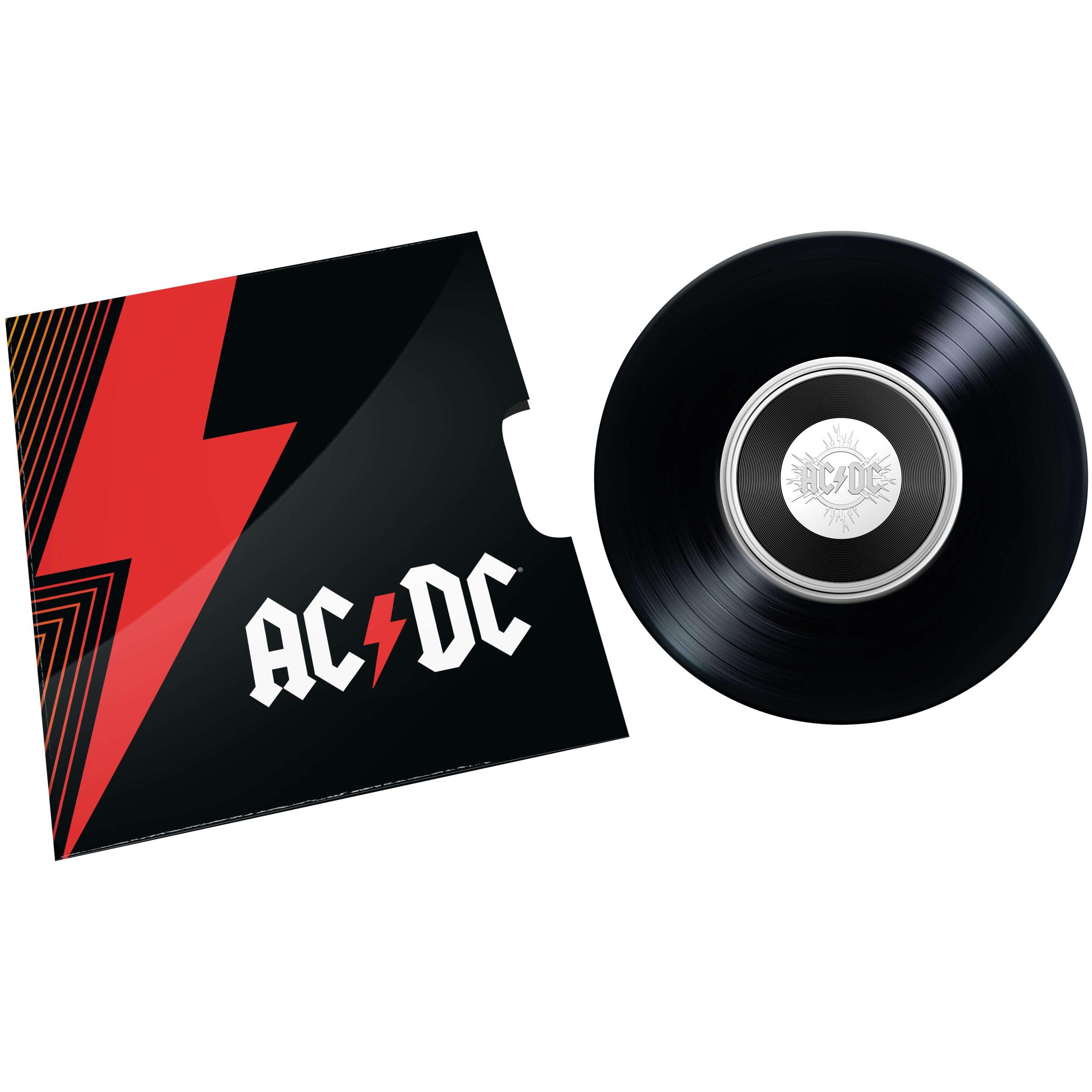 2020/2021 - AC/DC Seven Coin Collection - 20c Coloured CuNi Unc Coins 13