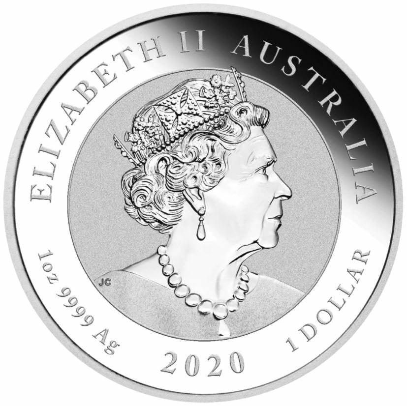 2020 Quokka 1oz .9999 Silver Bullion Coin 5