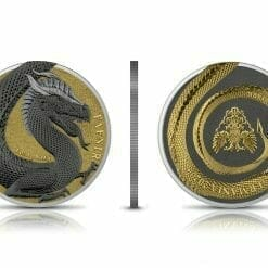 2020 Germania Beasts – Fafnir Geminus 1oz .9999 Silver 2 Coin Set 14