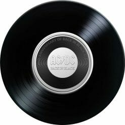 2020 20c AC/DC 40th Anniversary of Back in Black Coloured Uncirculated Coin 5