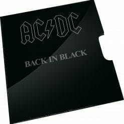 2020 20c AC/DC 40th Anniversary of Back in Black Coloured Uncirculated Coin 6