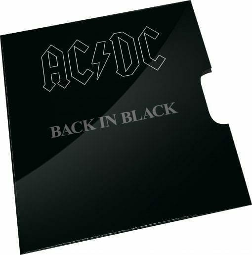 2020 20c AC/DC 40th Anniversary of Back in Black Coloured Uncirculated Coin 3