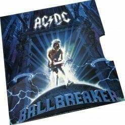 2020 20c AC/DC 25th Anniversary of Ballbreaker Album Coloured Uncirculated Coin 6