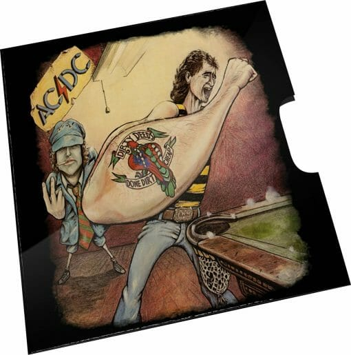 2021 20c AC/DC 45th Anniversary of Dirty Deeds Done Dirty Cheap Coloured Uncirculated Coin 3