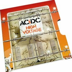 2020 20c AC/DC 45th Anniversary of High Voltage Coloured Uncirculated Coin 6