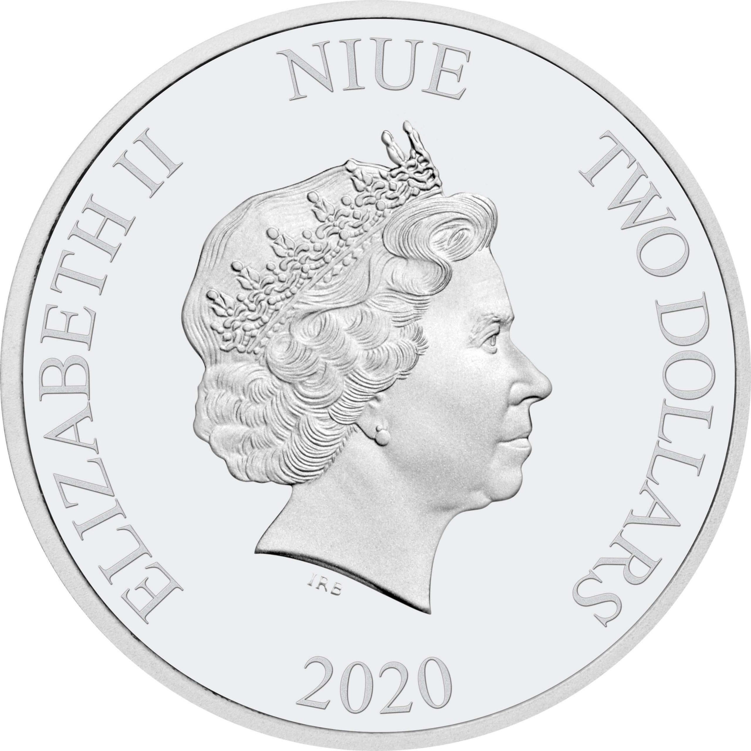 2020 Star Wars - Darth Vader 1oz .999 Silver Bullion Coin 3