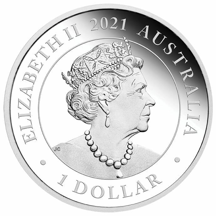 2021 Wedding 1oz .9999 Silver Proof Coin 3