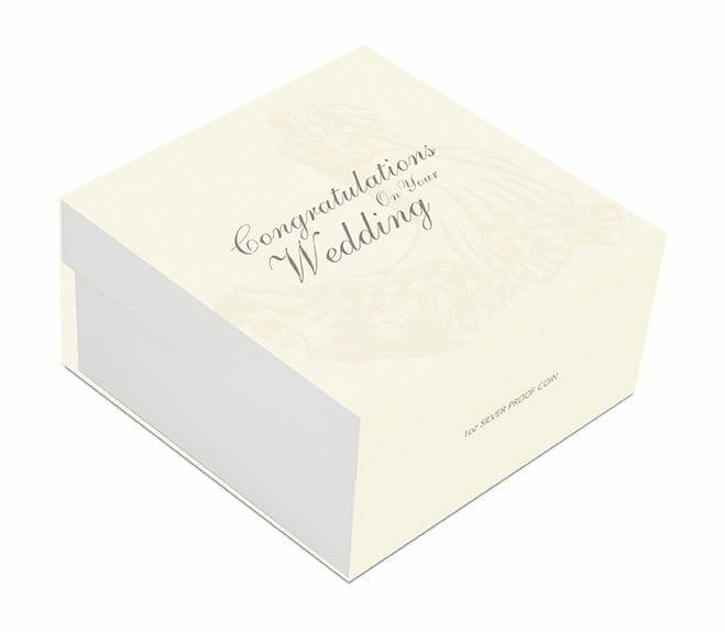 2021 Wedding 1oz .9999 Silver Proof Coin 6