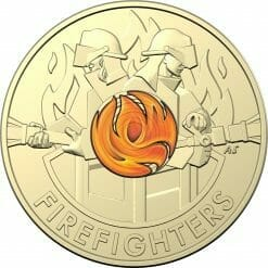 """2020 $2 Firefighters Coin in Card Two Pack - """"C"""" Mintmark & No Mintmark Coins 12"""