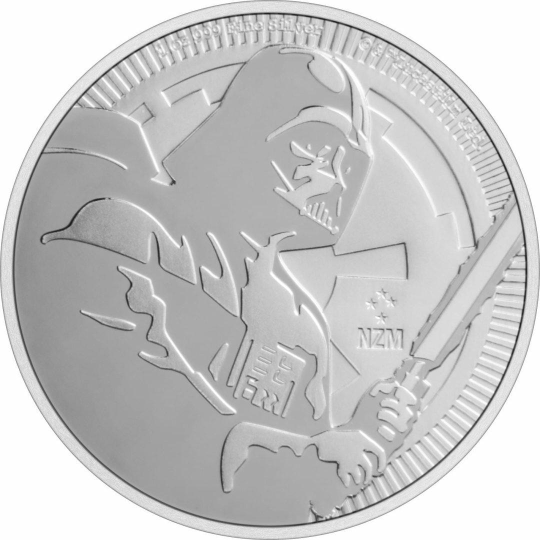 2020 Star Wars - Darth Vader 1oz .999 Silver Bullion Coin 1