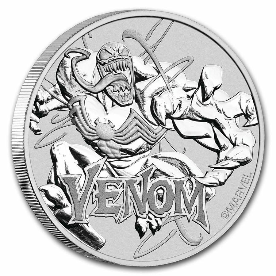 2020 Marvel Series - Venom - 1oz .9999 Silver Bullion Coin 2