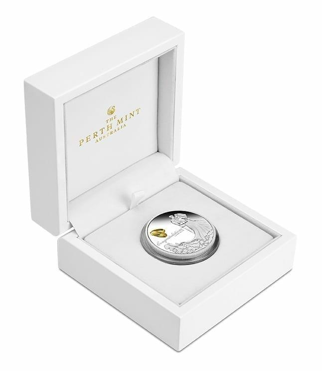 2021 Wedding 1oz .9999 Silver Proof Coin 4