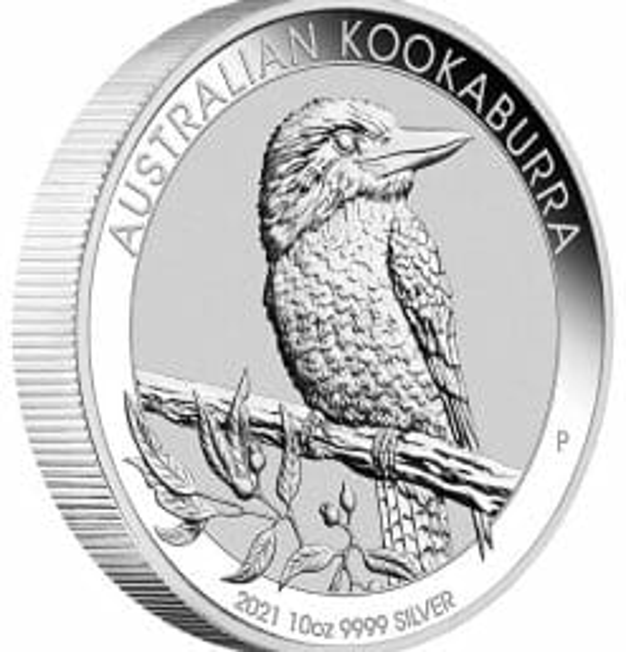 2021 Australian Kookaburra 10oz .9999 Silver Bullion Coin 4