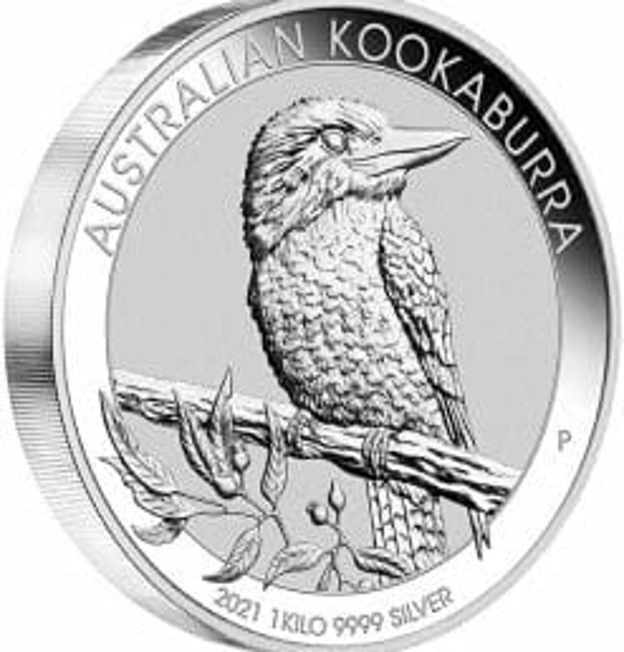 2021 Australian Kookaburra 1kg .9999 Silver Bullion Coin - 1 Kilo 4