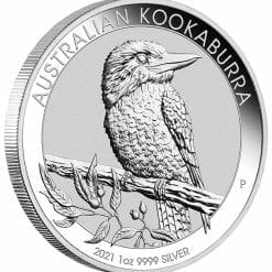 2021 Australian Kookaburra 1oz .9999 Silver Bullion Coin 4