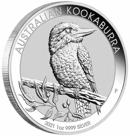 2021 Australian Kookaburra 1oz .9999 Silver Bullion Coin 2