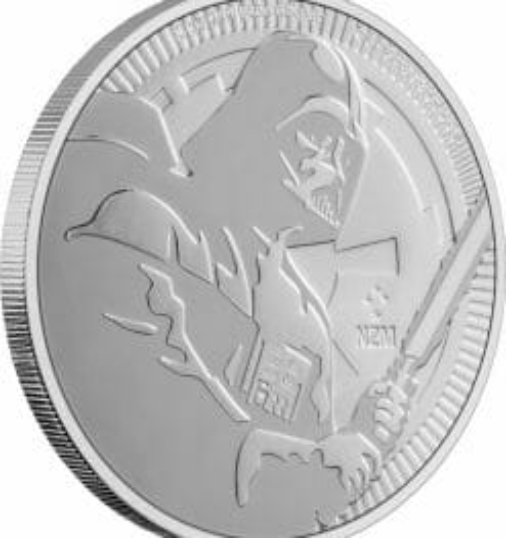 2020 Star Wars - Darth Vader 1oz .999 Silver Bullion Coin 4