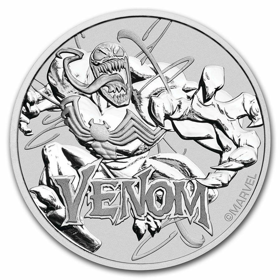 2020 Marvel Series - Venom - 1oz .9999 Silver Bullion Coin 1