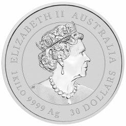 2021 Year of the Ox 1 Kilo Silver Coin with Gold Privy Mark – Lunar Series III 8