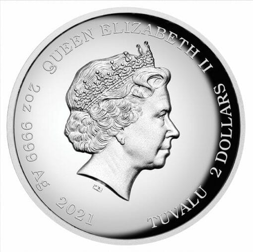 2021 Homer Simpson 2oz .9999 Silver Proof High Relief Coin 4