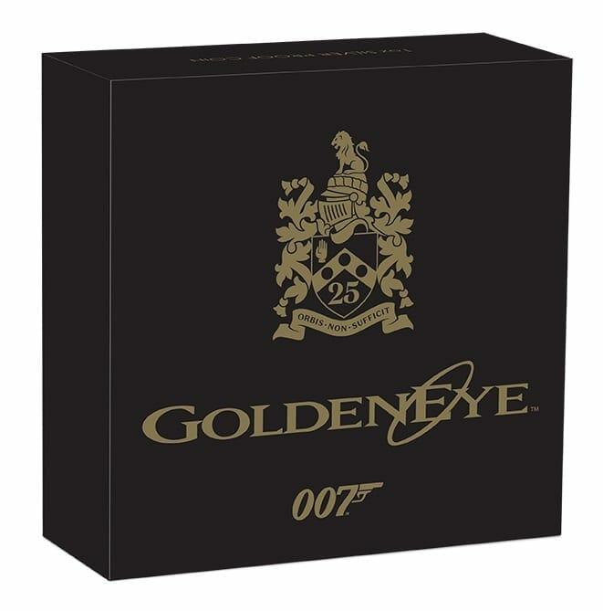 2020 James Bond - GoldenEye 25th Anniversary 1oz .9999 Silver Proof Coin 9