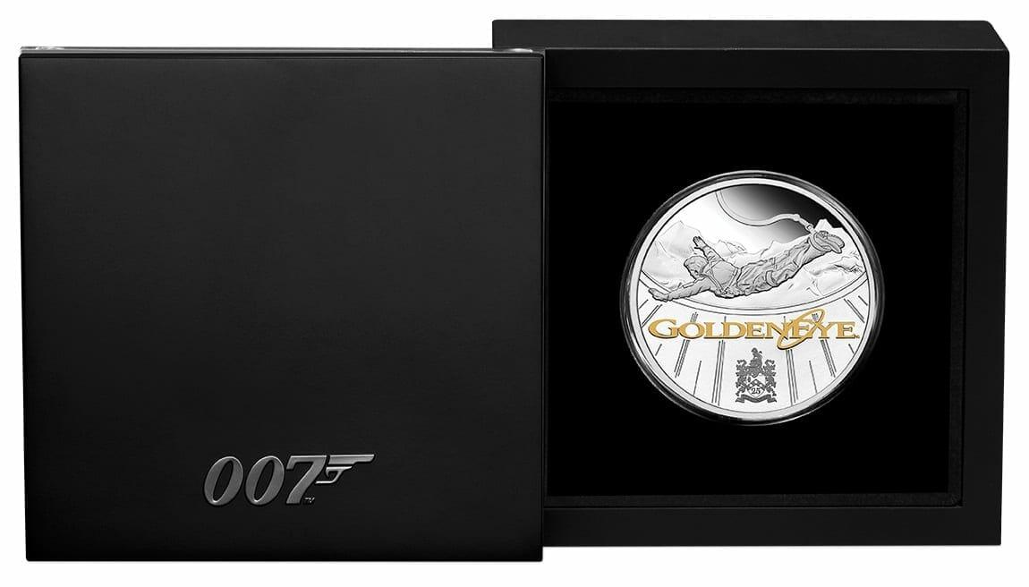 2020 James Bond - GoldenEye 25th Anniversary 1oz .9999 Silver Proof Coin 3