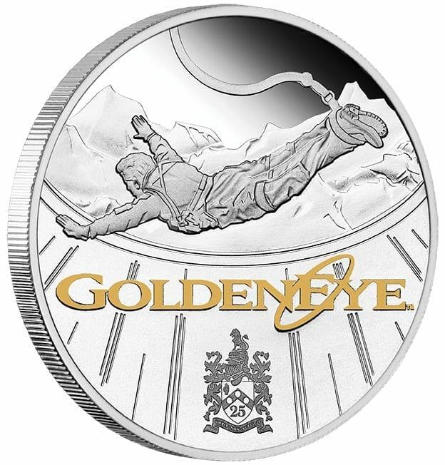 2020 James Bond - GoldenEye 25th Anniversary 1oz .9999 Silver Proof Coin 2