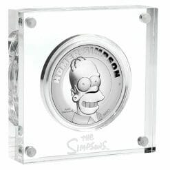 2021 Homer Simpson 2oz .9999 Silver Proof High Relief Coin 7