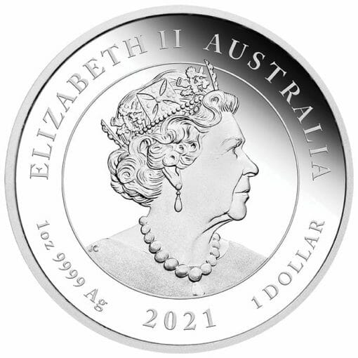 2021 Happy Birthday 1oz .9999 Silver Proof Coloured Coin in Card 4