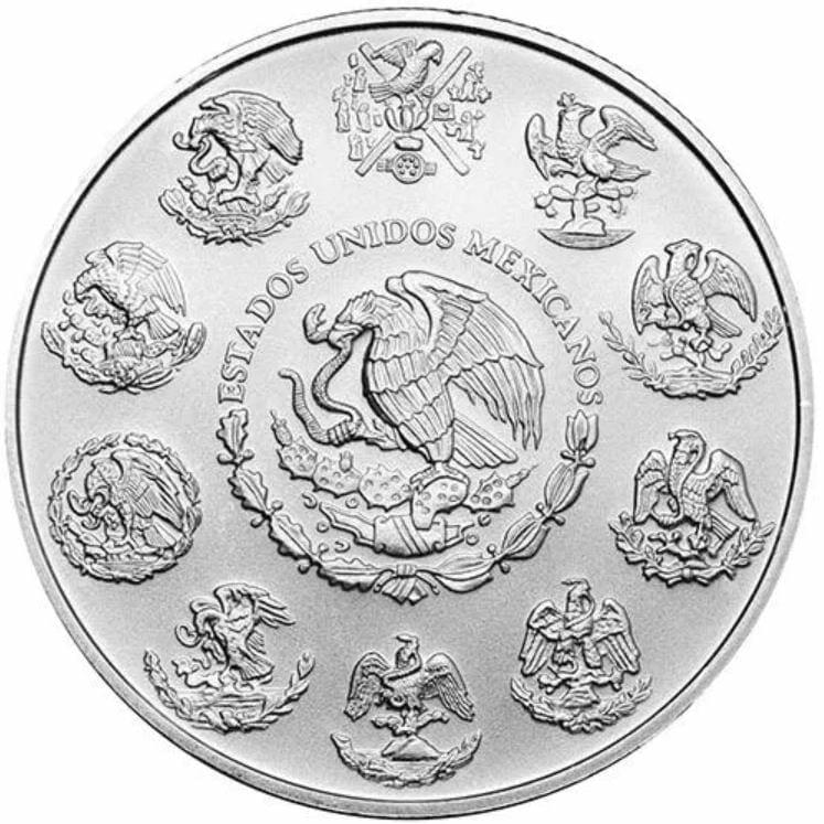 2020 Mexican Libertad 1oz .999 Silver Bullion Coin 3