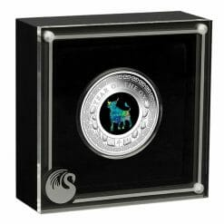 2021 Opal Lunar Series - Year of the Ox 1oz .9999 Silver Proof Coin 7