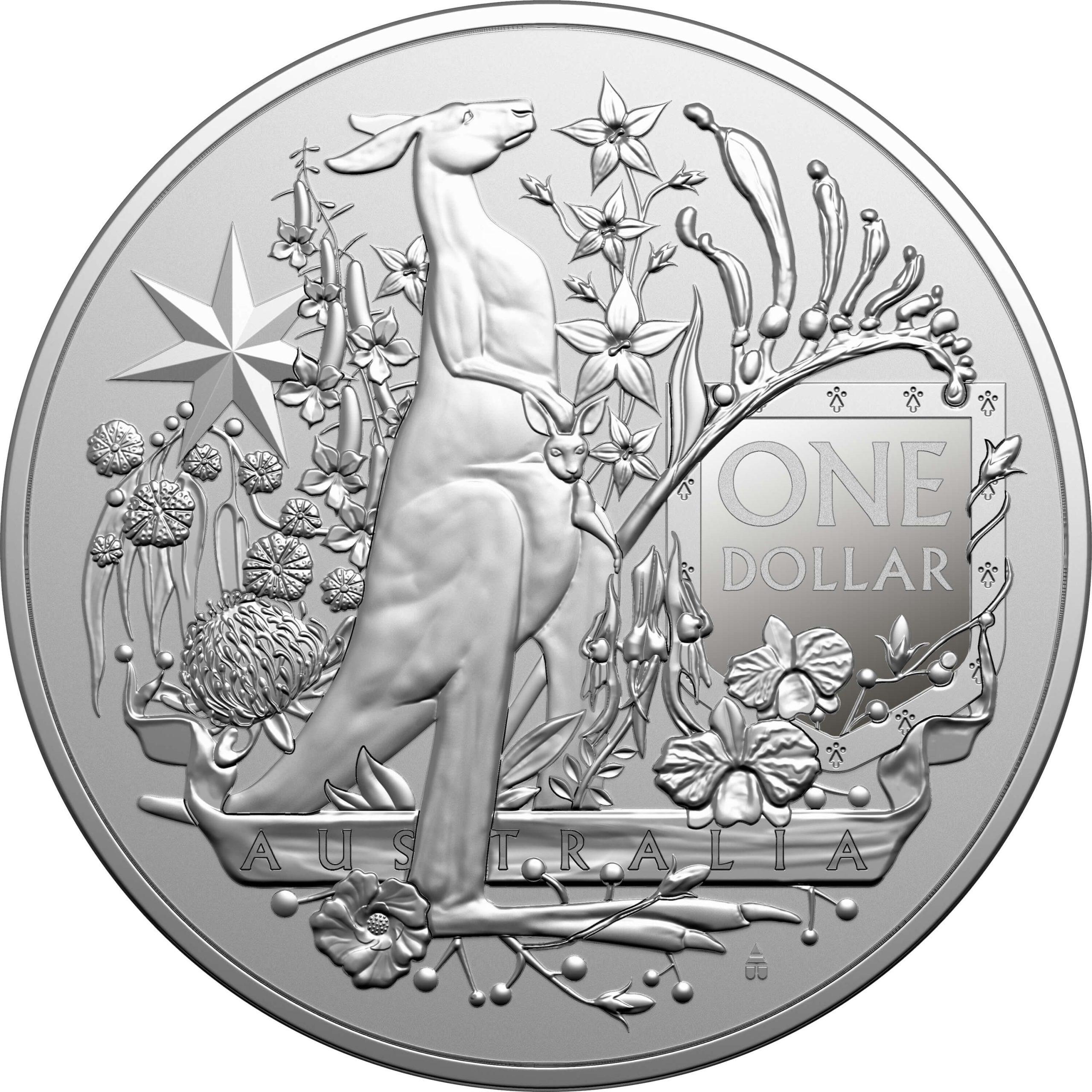 2021 Australia's Coat of Arms 1oz .999 Silver Bullion Coin 1