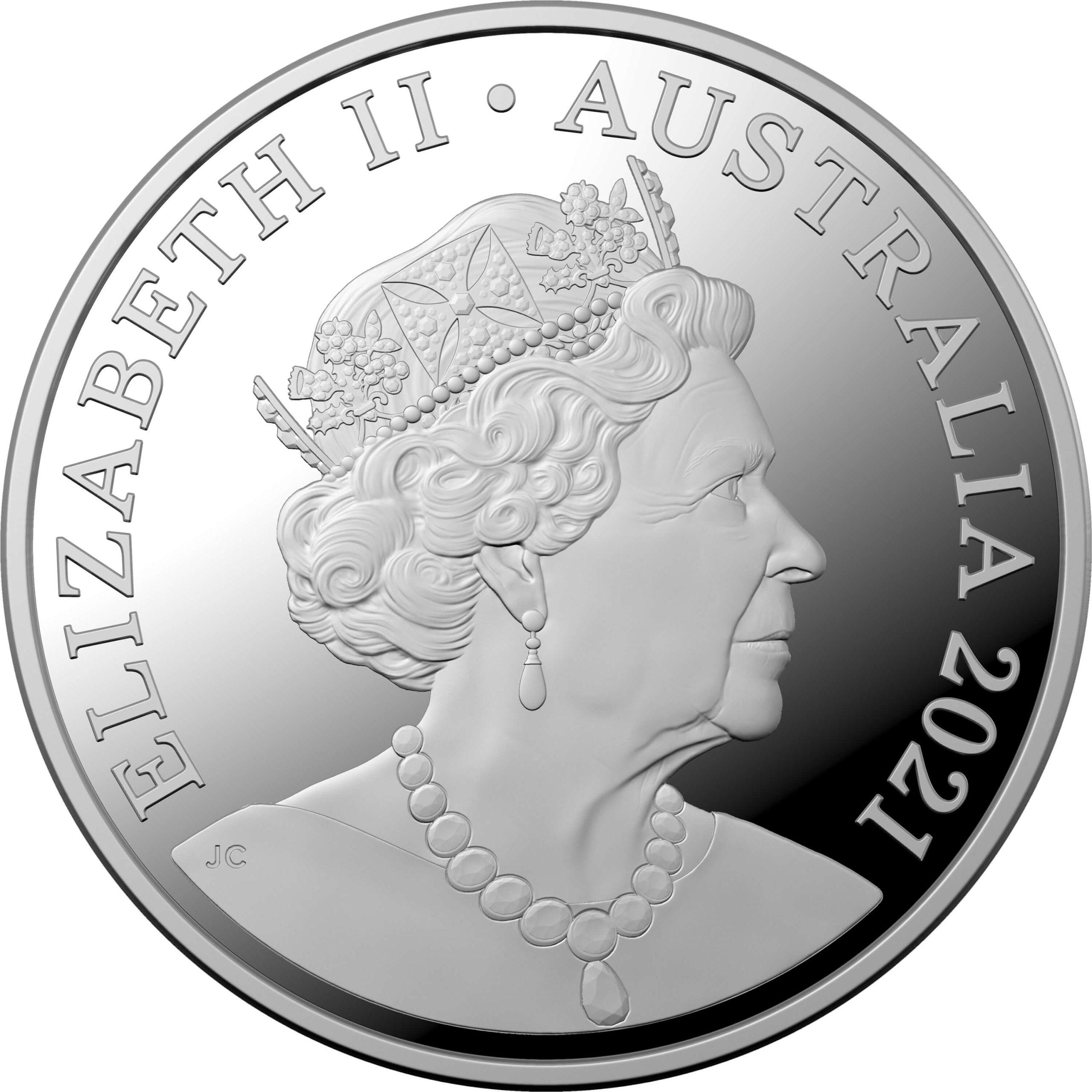 2021 $5 Centenary of Rotary Australia 1oz .999 Silver Proof Coin 7