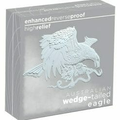 2021 Australian Wedge-Tailed Eagle 5oz .9999 Silver Enhanced Reverse Proof High Relief Coin 9
