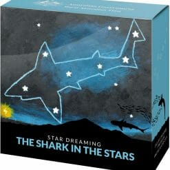 2021 $1 Star Dreaming - Beizam - The Shark in the Stars 1/2oz .999 Coloured Silver Coin 9