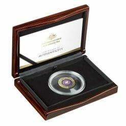 2021 $100 The Earth & Beyond - The Milky Way 1oz .9999 Gold Proof Colour Domed Coin 9