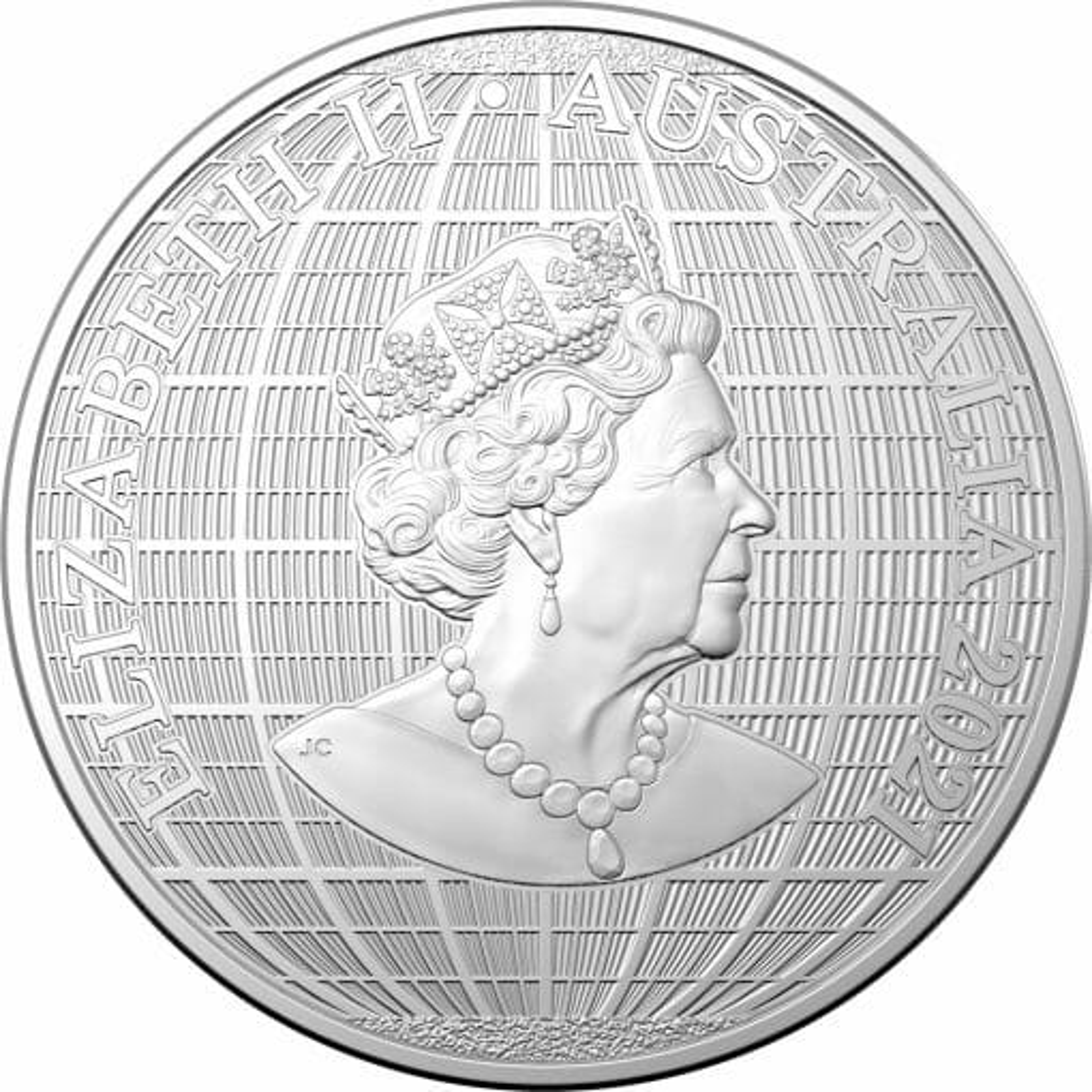 2021 $1 Beneath the Southern Skies 1oz .9999 Silver Bullion Coin - Platypus 2
