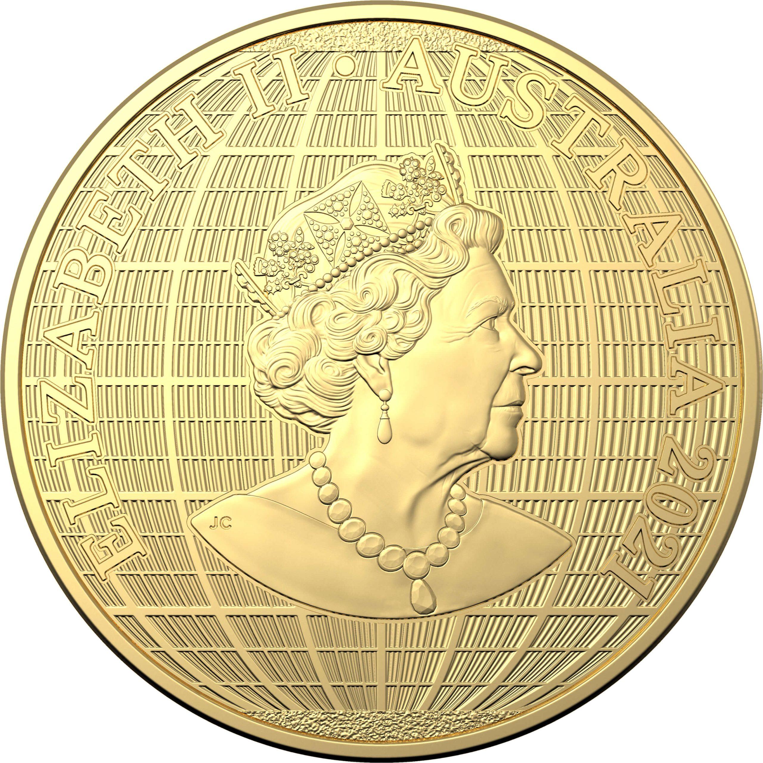 2021 $100 Beneath the Southern Skies 1oz .9999 Gold Bullion Coin - Platypus 3