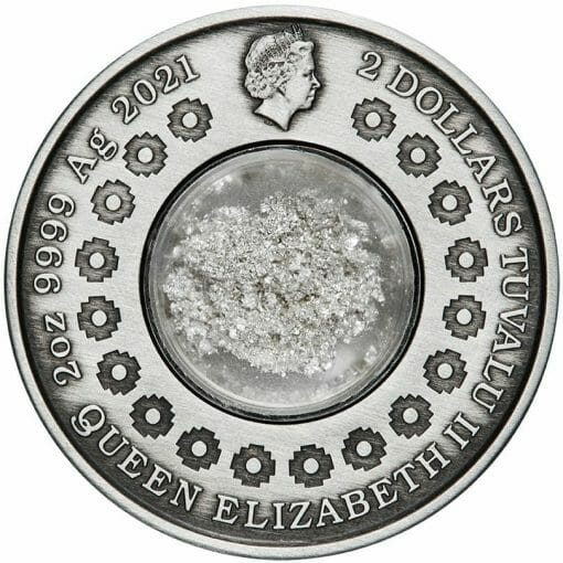 2021 Tears of the Moon 2oz .9999 Silver Antiqued Coin 3