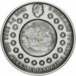2021 Tears of the Moon 2oz .9999 Silver Antiqued Coin 8