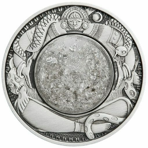 2021 Tears of the Moon 2oz .9999 Silver Antiqued Coin 1