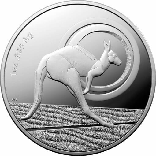2021 $1 Kangaroo Series - Outback Majesty 1oz .999 Silver Proof Coin 1